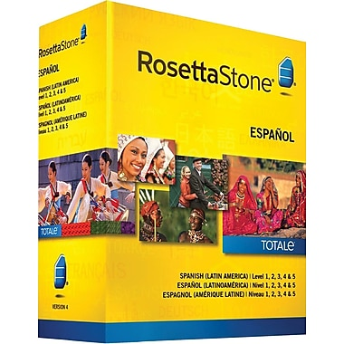 Rosetta Stone® Spanish Latin America, Level 1-5