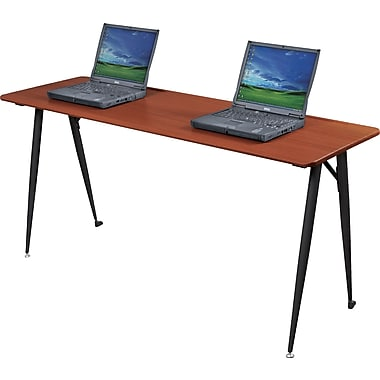 Balt®  iFlex™ Modular Desking System 60in. Seminar Table, Cherry/Black