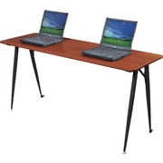 Balt®  iFlex™ Modular Desking System 60 Seminar Table, Cherry/Black