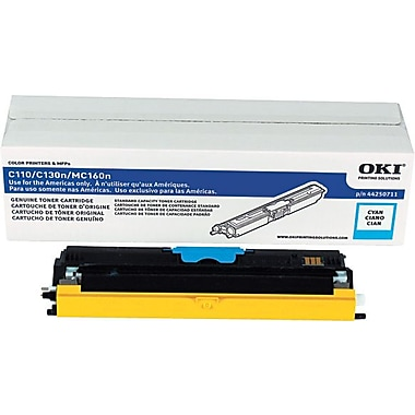 Oki 44250711 Cyan Toner Cartridge Type D1 , (1.5K pages)