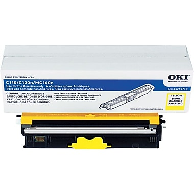 Oki (44250713) Yellow Toner Cartridge Type D1, (2.5K pages)