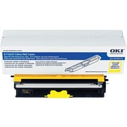 Okidata Yellow Toner Cartridge (44250713), High Yield
