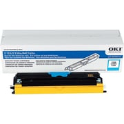 Okidata Cyan Toner Cartridge (44250715), High Yield