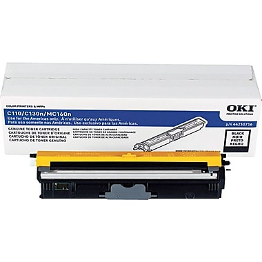 Okidata Black Toner Cartridge (44250716), High Yield