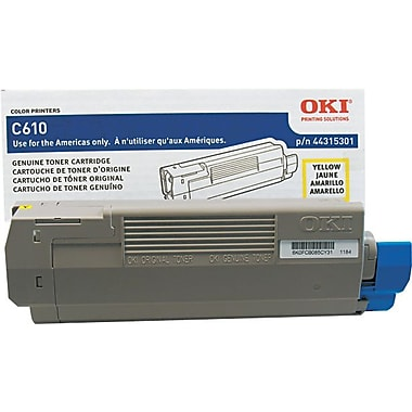 OKI 44315301 Yellow Toner Cartridge