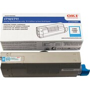 OKI 44318603 Cyan Toner Cartridge