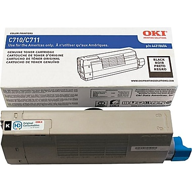 OKI 44318604 Black Toner Cartridge