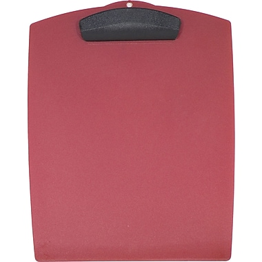 Storex Clip & Carry Clipboard, Strawberry