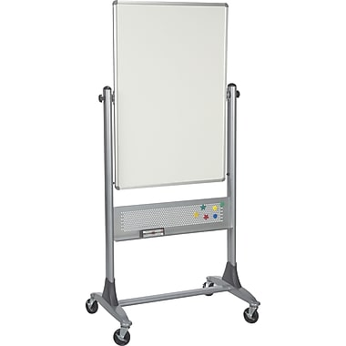 Best-Rite Porcelain Reversible Dry-Erase Easel, 30in. x 40in.