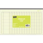"Staples® Columnar Pads, 13 Column, 13-5/16"" x 8-1/2"", Each"
