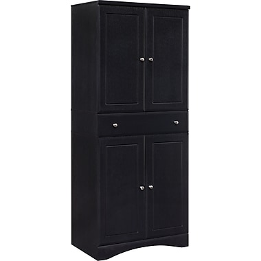 Atra Multipurpose Storage Cabinet, Nightingale Black