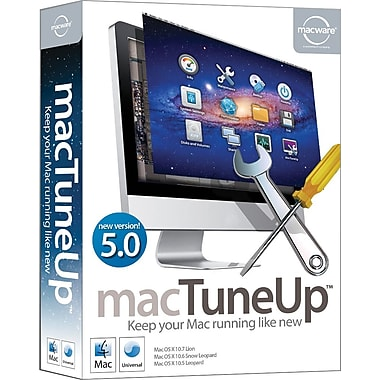 Macware® macTuneUp 5.0 [Boxed]