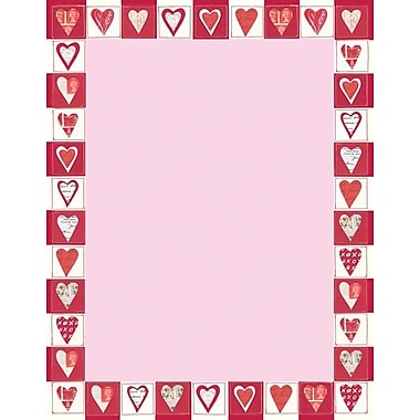 Great Papers Cutout Hearts Letterhead