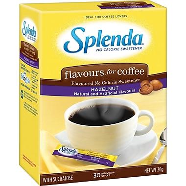 Splenda® Flavoured Sweetener Packets, Hazelnut, 30/Box