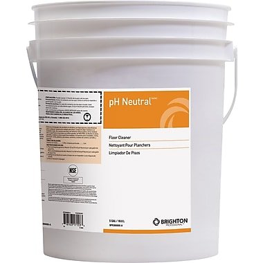 Brighton Professional pH Neutral Floor Care All Purpose Concentrated Cleaner, 5 Gallon