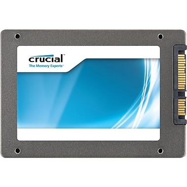 Crucial M4 128GB 2.5in. SATA III (6 Gb/s) MLC Internal Solid State Drive (SSD)