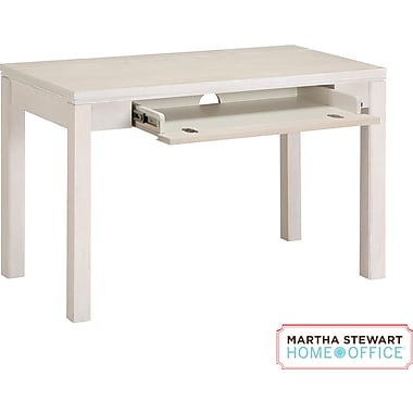 Martha Stewart Home Office Blair Desk, Sand Gray