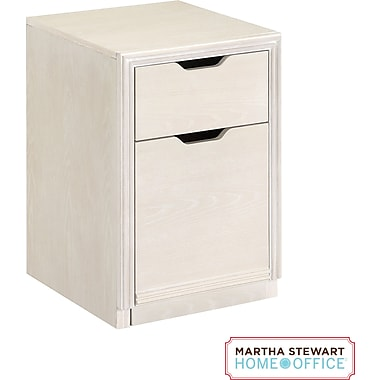 Martha Stewart Home Office™ Blair File, Sand Gray