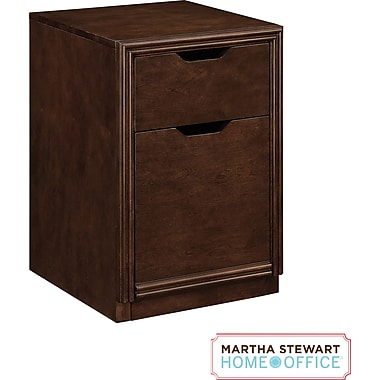 Martha Stewart Home Office Blair File, Walnut Brown