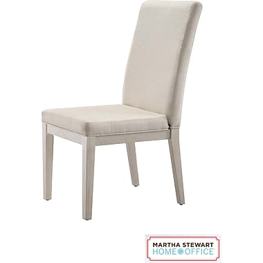 Martha Stewart Home Office Blair Chair, Sand Gray