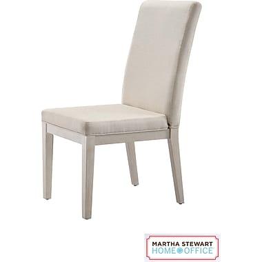 Martha Stewart Home Office Blair Chair, Sand Gray