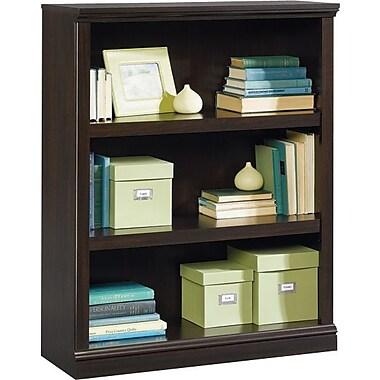 Sauder® 3-Shelf Bookcase, Jamocha Wood