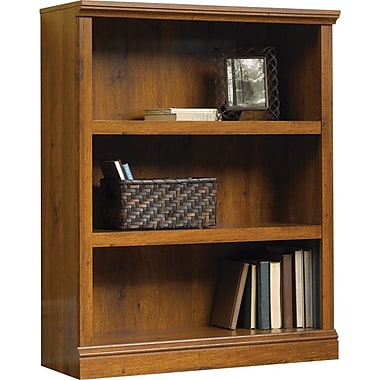 Sauder® 3-Shelf Bookcase, Abbey Oak