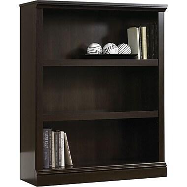 Sauder® 3-Shelf Bookcase, Cinnamon Cherry