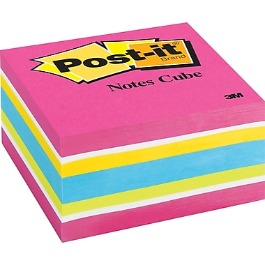 Post-it® 3in. x 3in. Ultra Memo Cube