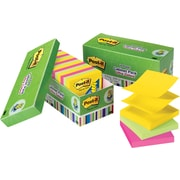 Post-it® 3 x 3 Ultra Colors Pop-Up Notes with Cabinet Pack, 18/Pack