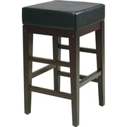 "OSP Designs® Metro Faux Leather 24"" Bar Stool, Espresso"