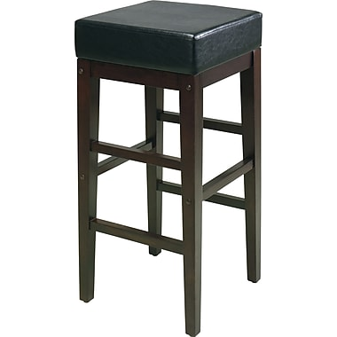 OSP Designs® Metro Faux Leather 30in. Bar Stool, Espresso
