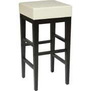 OSP Designs® Metro Faux Leather 30 Bar Stool, Cream