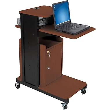 Balt Xtra Long Presentation Cart