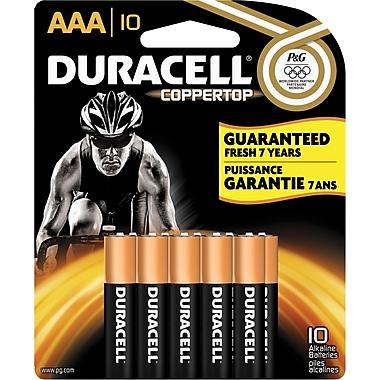 Duracell® AAA Alkaline Batteries, 10-Pack