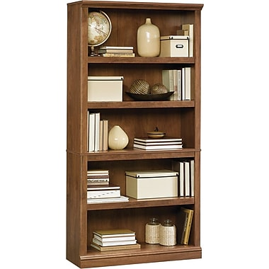 Sauder® 5-Shelf Bookcase, Oiled Oak