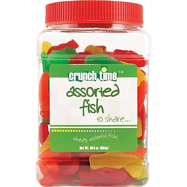 Crunch Time Assorted Fish, 30.5 oz.