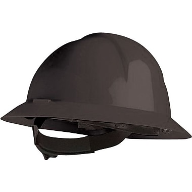 North® Slotted Everest Hard Hats, HDPE, 6 Point, Black, Ratchet