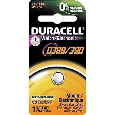 Duracell® D389/D390 Silver Oxide Watch Battery
