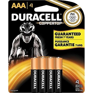 Duracell® AAA Alkaline Batteries, 4-Pack