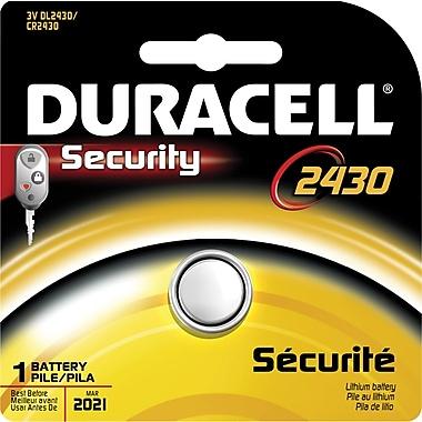 Duracell® DL2430 3V Lithium Battery