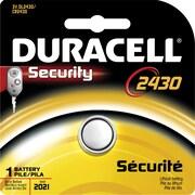 Duracell® - Pile au lithium 3V DL2430
