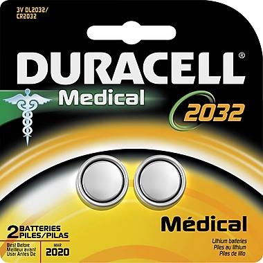 Duracell® DL2032-2 3V Lithium Medical Battery