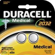 Duracell® - Pile au lithium médicale 3V DL2032-2