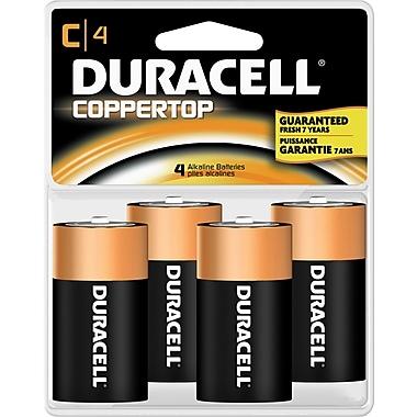 Duracell® C Alkaline Batteries, 4-Pack