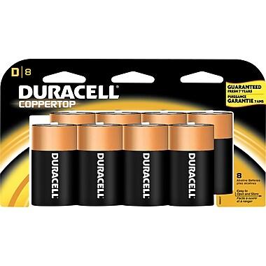 Duracell® D Alkaline Batteries, 8-Pack