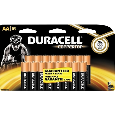 Duracell® AA Alkaline Batteries, 16-Pack