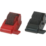 Porelon PR-78B/R Black and Red Calculator Ink Rollers, 2/Pack