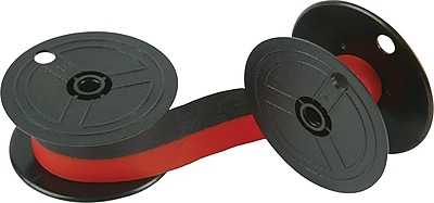 Porelon PR 511 Universal Black Red Calculator Ribbon 11216 6 Pack