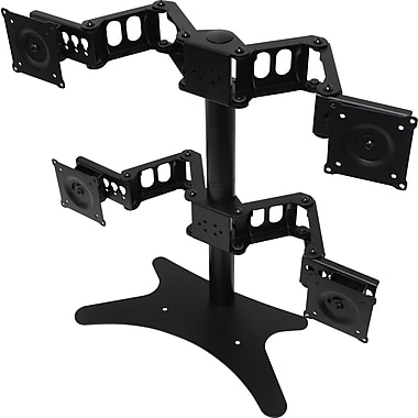 DoubleSight Displays DS-424STA Quad Monitor Flex Stand